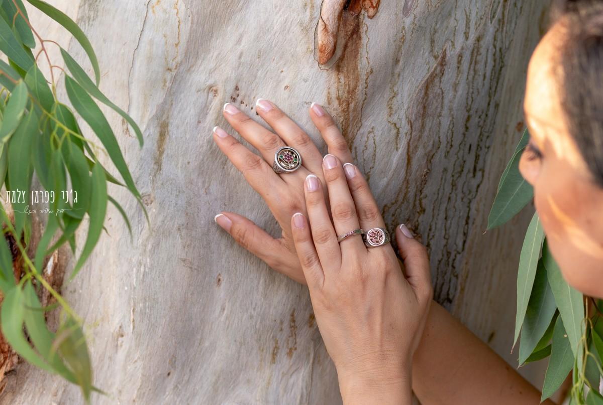 """ג'ני פפרמן צלמת הריון, נשיות, בוק בת מצווה ותדמית IMG_0511 צילומי אווירה לתכשיטים - """" דרך הטבע"""""""